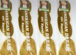 4 Pack of Regular Braid Colour Gold